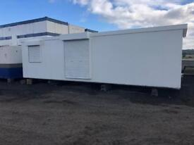 Sales cabin 32x10 ft IDEAL MAN CAVE!!!!! Shipping container