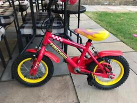 Kids fire chief bike from Halfords