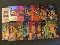 The Simpsons, seasons 1-15 available