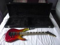 westone spectrum 2 guitar with case amp and accsessories