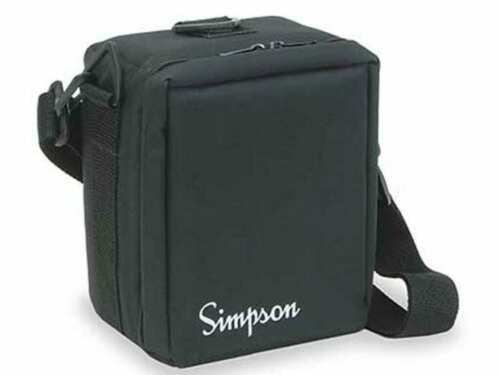 Simpson 00834 Black Padded Carrying Case for 260 Analog Multimeter Authorized