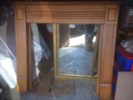 Oak Veneer Surround and Back Panel