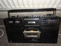 vintage Ferguson 3T04 Stereo Radio Cassette Recorder