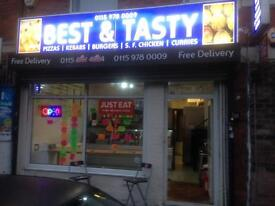 Best & Tasty - Kebab house available. Rent £500pcm asking for £18000