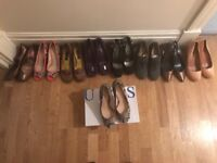 Size 4 - 9 pairs of Shoes . Excellent condition
