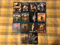 14 Blu Ray Movie Collection