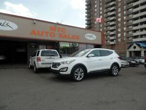 2013 Hyundai Santa Fe Sport 2.0T Limited, AWD, LEATHER, NAV, BAC