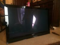 "Samsung 50"" TV PS50Q97HDX perfect working condition garage clearance must go"