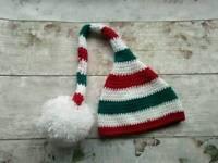 Nee crochet newborn baby photo prop