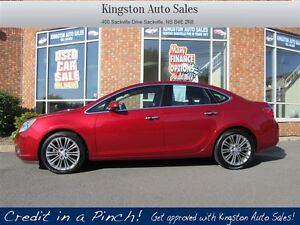 2013 Buick Verano W/ LEATHER, BOSE, B/UP CAM