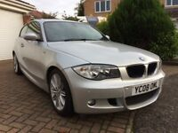 2008 BMW 1 Series 118i 3 door Coupe Automatic - Full Service History - MOT until October 2018