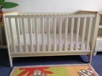 John Lewis cot/bed