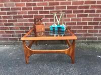 Vintage Teak Coffee Table G PLAN Style Mid Century RETRO