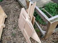 Assorted plywood pieces