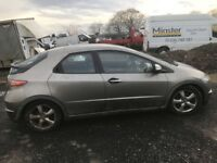 Honda Civic Diesel 2007 year Breaking - Spare Parts Available