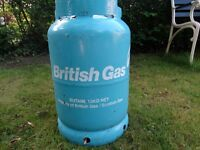 British Gas Butane Cylinder 13KG unused / still sealed