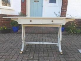 Wood paint painted 19th century Sofa Table