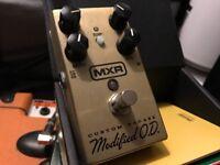 mxr custom badass modified overdrive