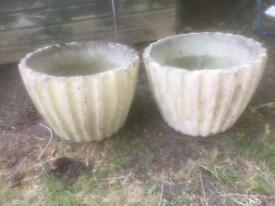 Two planters