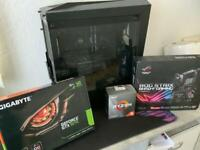 Custom AMD Gaming PC (with keyboard and mouse)