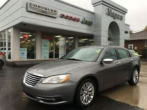 2012 Chrysler 200 LIMITED,LEATHER,ALLOYS,SUNROOF