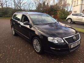 Volkswagen Passat highline 2ltr tdi 140bhp top spec full leather 10reg new cam belt fsh 1 year mot