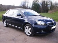 2007 TOYOTA AVENSIS 1.8 VVTI MANUAL BLUE BREAKING FOR PARTS