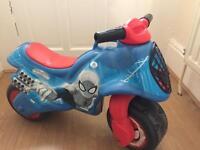 Spider plastic motorbike