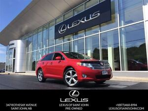 2012 Toyota Venza AWD V6 with dual sunroof and backup