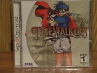Time Stalkers Dreamcast game. RPG