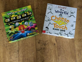 Wimpy kid cheese touch game & Gogos crazybones game set