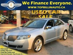 2012 Lincoln MKZ Navigation, ONLY 25K kms