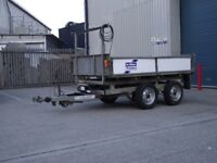 TIPPING/TIPPER TRAILER - IFOR WILLIAMS 2.7 TON - 8 X 5 TON