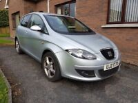 2007 SEAT ALTEA TDI, with 140BHP engine, 6 speed gear box, regularly serviced