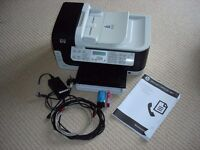 HP Officeject 6500 networked multifunction printer (print / copy / scan / fax) - fully working