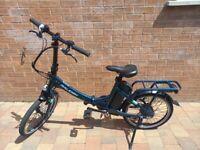 Raleigh Evo Electric Folding Bike