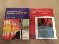 Understanding the Business Environment and Organisational Context - Claire Capon Paperback
