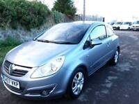 VAUXHALL CORSA CLUB 2007, 1.2, low mileage, only one previous owner