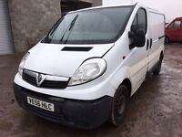 Vauxhall vivaro van spare parts available bonnet door wing wheel radiator Exu set computer