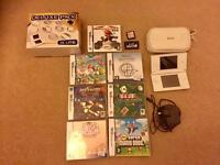 Nintendo DS Lite plus games and accessory pack