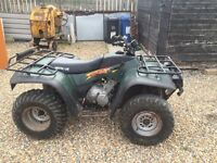 Quad for sale in good condition starts first time on the button 4x4 450cc petrol run well £1000 ono