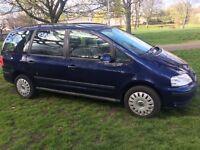 CHEAP 2006 VW SHARAN 1.9 TDI S ( FULL LEATHER INTERIOR) £2400