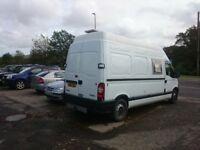 2006 Renault Master campervan