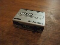M-Audio USB MidiSport 2x2 MIDI-USB interface