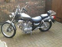 YAMAHA 535cc MOTORCYCLE