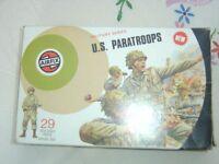Rare Airfix military series, U.S. Paratroopers.