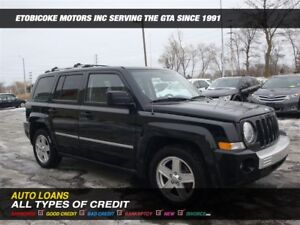 2010 Jeep Patriot IMMACULATE CONDITION /LIMITED  / 4X4