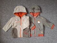 3x baby boy coats