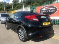 2013 (13 reg) Honda Civic 1.6 i DTEC EX Hatchback 5dr Turbo Diesel Hatchback