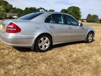 Mercedes E220 CDI, 2003, Silver, DIESEL, 2 Owners, 97k Low Miles, Well Looked After